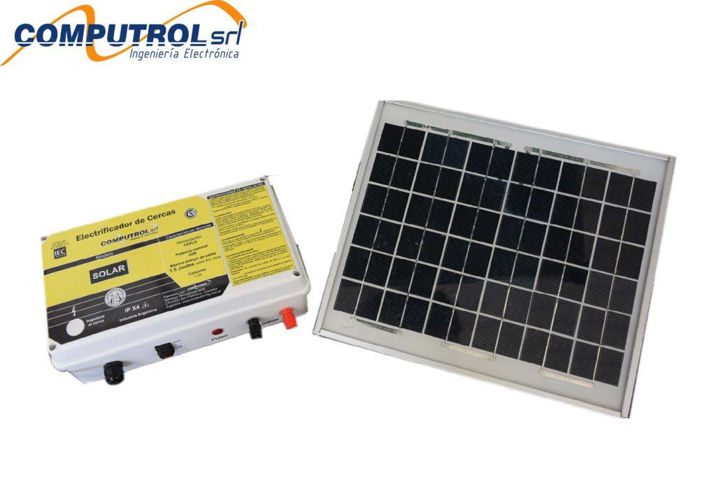 Electrificador Solar de Cercas